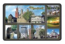 Magneet Doming 5,5x8,5cm Maastricht