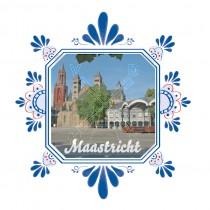 Magneet Delfts Bl. Vierk. Maastricht