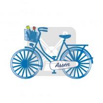 Magneet fiets dom. Assen