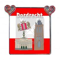 Magneet hartjes/foto Dordrecht