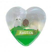 Magneet hart met olie Schaap America (3405178&)
