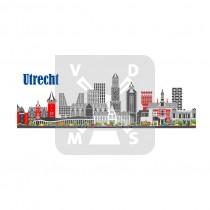 Fotomagneet panorama Utrecht