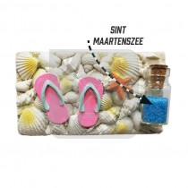 Magneet poly schelp slipper St maartenszee (3405045&)