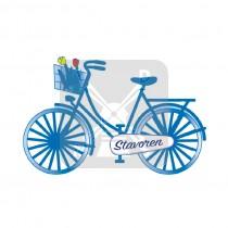 Magneet fiets Stavoren