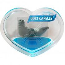 Magneet hart olie zeehond Oostkapelle (3403440&)