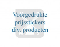 Prijsstickers