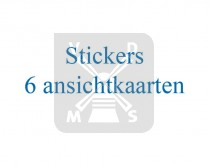 Sticker 6 Ansichtkaarten