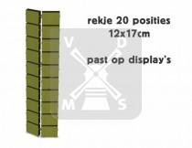 Rekje 12x17cm driehoek