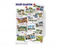 Kopkaart Relief kaarten