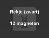 Rekje 12 magneten zwart