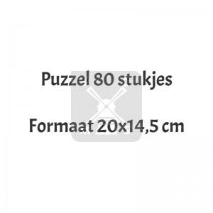 Puzzel 80 stukjes Cm
