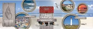 Snoepblik Egmond Strandpaaltjes