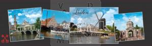 Snoepblik Leiden pepermunt