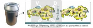 Melkbus Brabant boerderijdrop