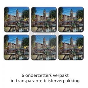 Set 6 onderzetters Kroesart