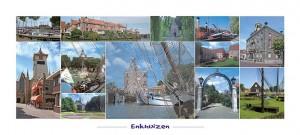 Panoramakaart Enkhuizen