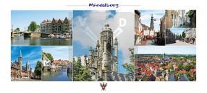 Panoramakaart Middelburg