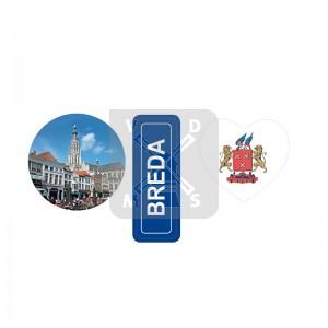 Sleutelh. 3 bedels Breda