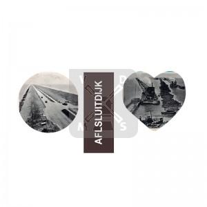 Sleutelh. 3 bedels nost. Afsluitdijk
