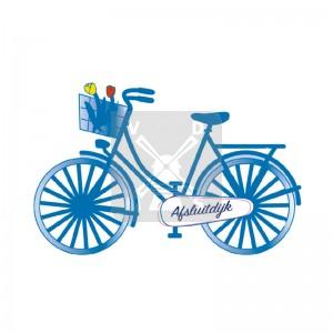 Sleutelhanger fiets Afsluitdijk