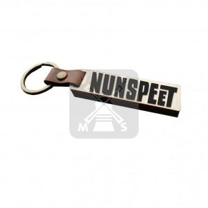 Sleutelh. hout leren band Nunspeet