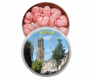 Blik Snoep Kers. Utrecht