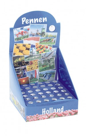 Display Bedrukte Pen Holland